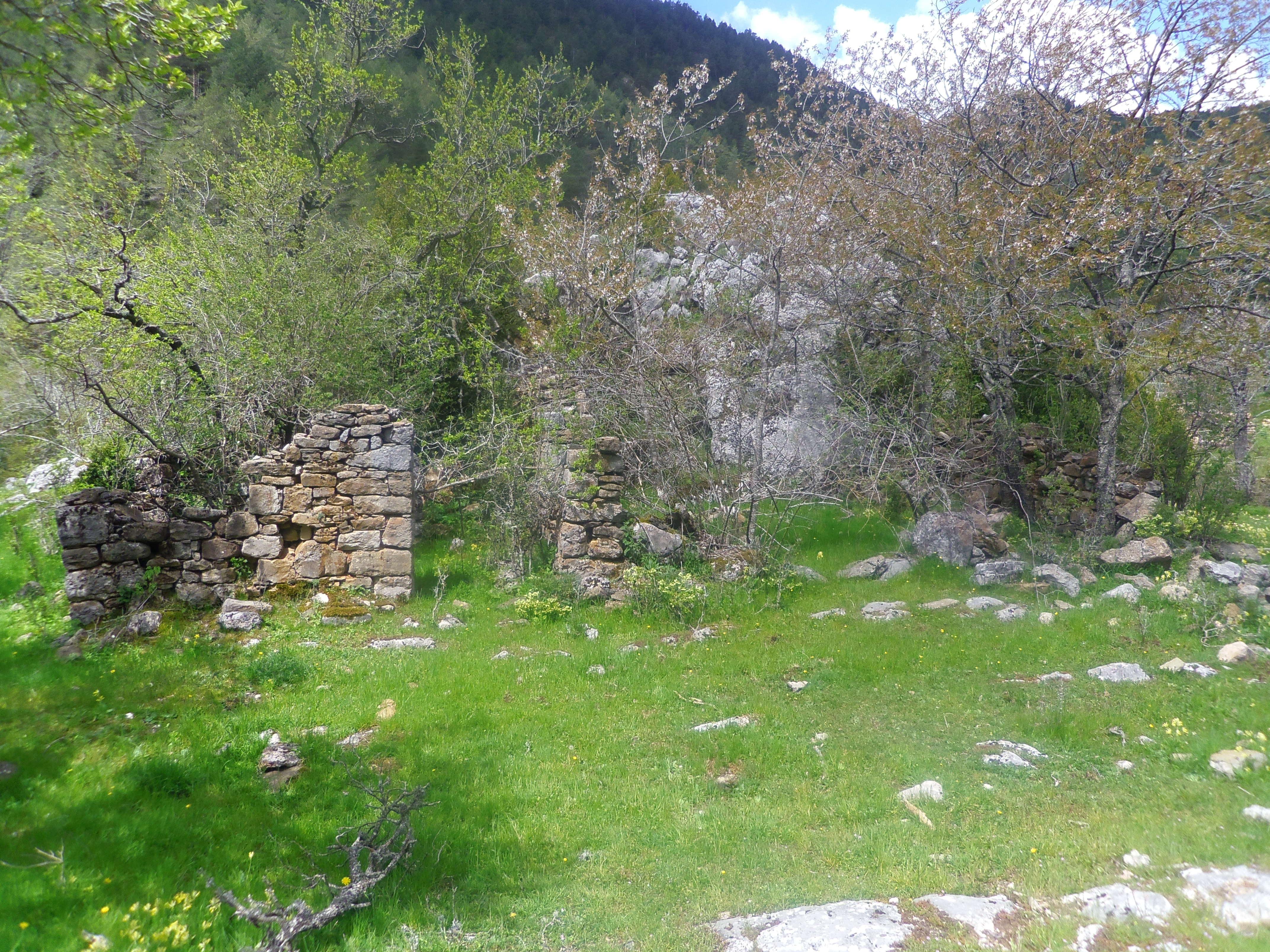 FOTO Restes de la masia Cal Isidró